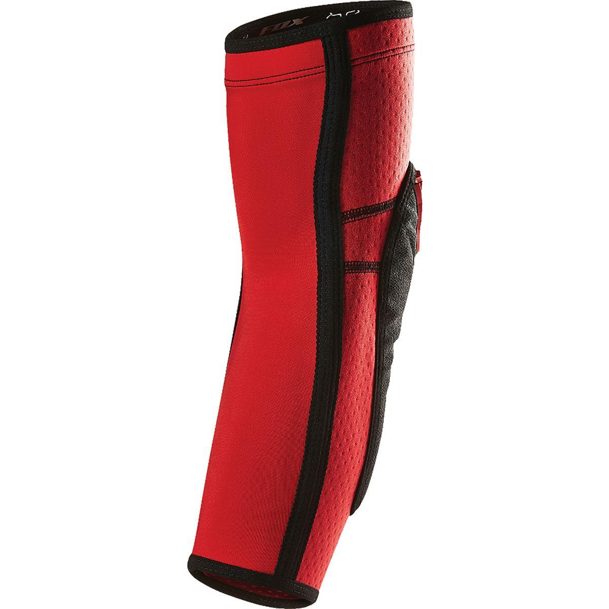 Fox Launch Enduro Elbow Pads  Red