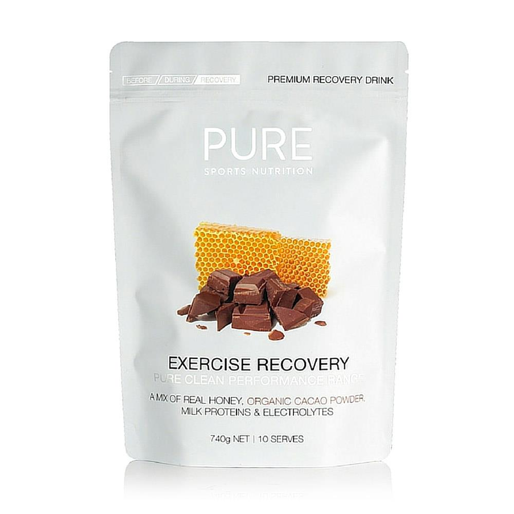 Pure Exercise Recovery Powder 740g Cacao & Honey