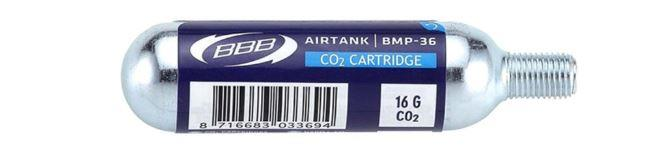BBB CO2 16g Airtank Cartridges