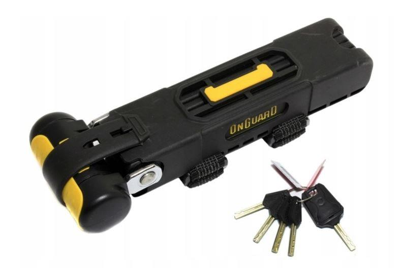 OnGuard 1125mm Link Plate Folding Key Lock