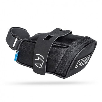 PRO Strap-Mount 0.4L Mini Saddle Bag Black