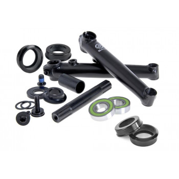 Salt Rookie 175mm Crank Mid Bottom Bracket Black