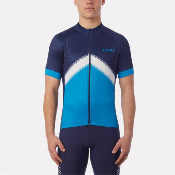 Giro Men's Chrono Sport Sublimated Jersey Blue Arrow
