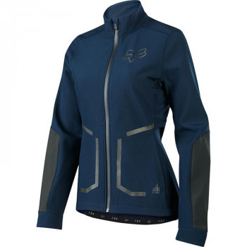 FOX WOMENS ATTACK FIRE SOFT SHELL JACKET