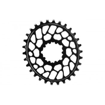 Absolute Black BB30 SRAM DM Oval Chainring