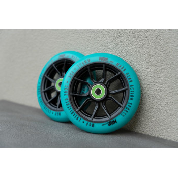MGP 120MM Syndicate Scooter Wheel Teal 2 Pack