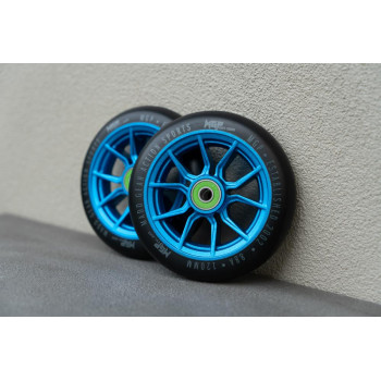 MGP 120mm Syndicate Wheel Blue 2 Pack