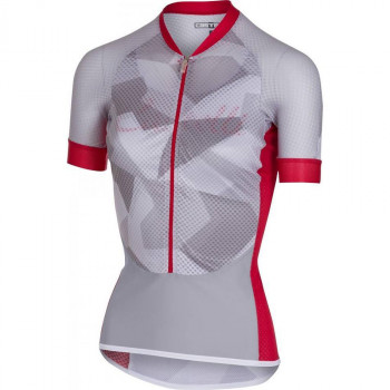 Castelli Women's Climbers Cycle Jersey White/Red