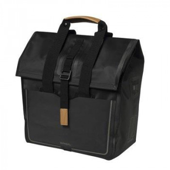 Basil Urban Dry Shopper Bag 25L Black