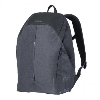 Basil Be Safe Nordlicht 18L Backpack Black