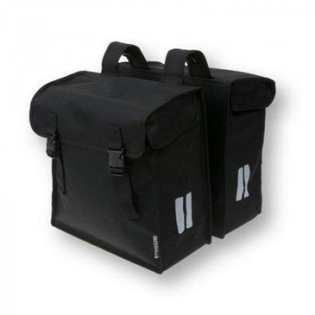 Basil Mara XXL Double Bag 47L Black