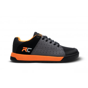 Ride Concepts Youth Livewire MTB Shoes Charcoal/Orange