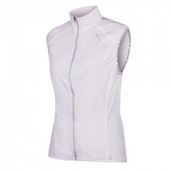 Endura Women's Pakagilet II Packable Vest White