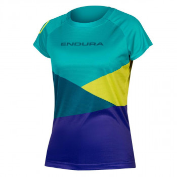 Endura Women's Singletrack Core Print Tee Kingfish