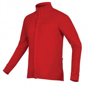 Endura Men's Xtract Roubaix L/S Jersey Red