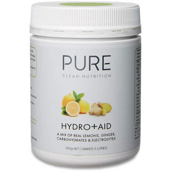Pure Hydro + Aid Electrolyte Drink 300g Lemons & Ginger