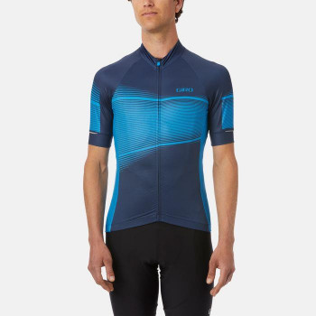 Giro Men's Chrono Expert Jersey Midnight Blue Heatwave