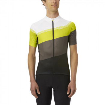 Giro Men's Chrono Sport Jersey Citron Green