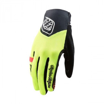 Troy Lee Designs Women's Ace 2.0 Gloves Flo Yellow