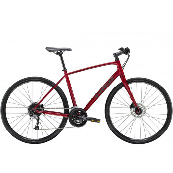 2021 Trek FX 3 Disc Bike Red