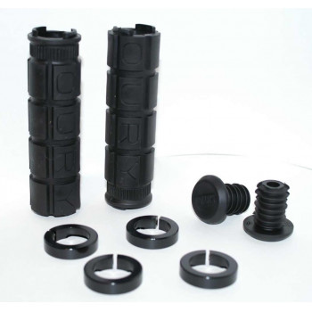 Oury Lock-On Handlebar Grips Black