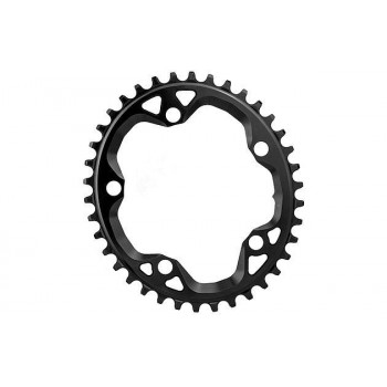 Absolute Black Cyclocross Oval Chainring 5 Bolt