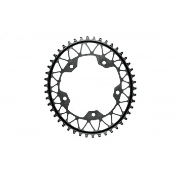 Absolute Black Gravel 1x Oval 5 Bolt 110BCD Chainring