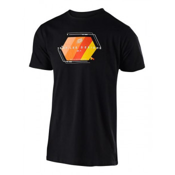 Troy Lee Designs Men's Technical Fade Tee Black