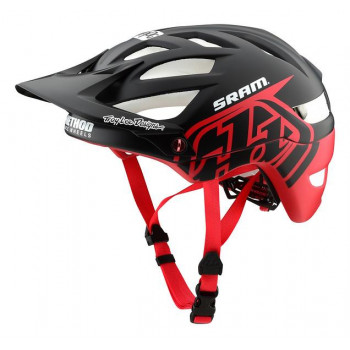 Troy Lee Designs A1 AS MIPS Classic SRAM Black / Red