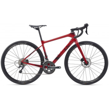 2020 Liv Women's Avail Advanced 3 Road Bike Metallic Red