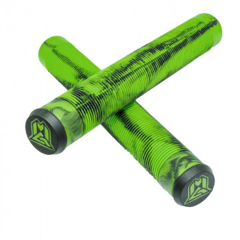 MGP MFX 180mm TPR Scooter Grips Green