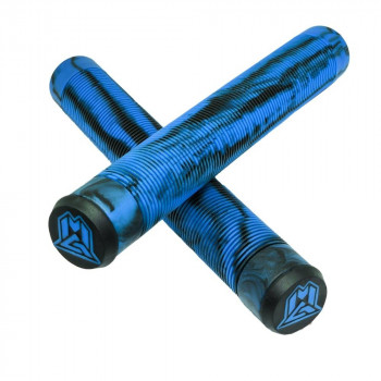 MGP Madd MFX 180mm TPR Scooter Grips Blue