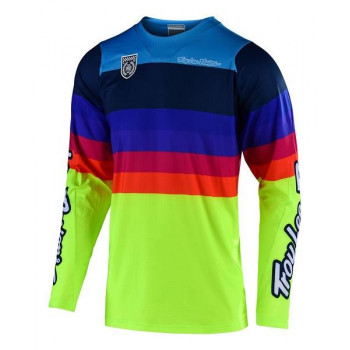 Troy Lee Designs Men's SE Pro Jersey Mirage Yellow
