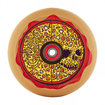 Chubby 110mm Skull Pizza Scooter Wheel