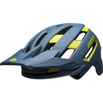 2020 Bell Super Air Spherical MIPS MTB Helmet Blue Hi Vis