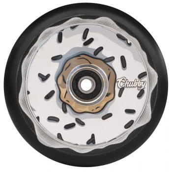 Chubby 110MM Donut Oreo White Wheel