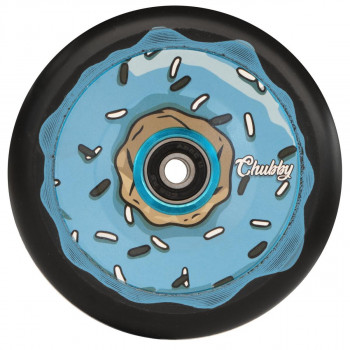 Chubby 110mm Donut Oreo Blue Wheel