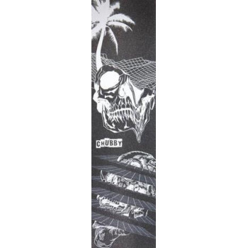 Chubby Tropical Skull Grip Tape