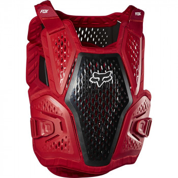Fox Raceframe Roost Body Armour Flame Red