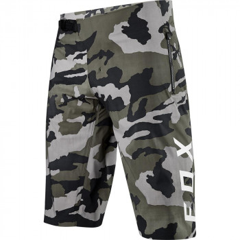 Fox Defend Pro Waterproof MTB Shorts Green Camo
