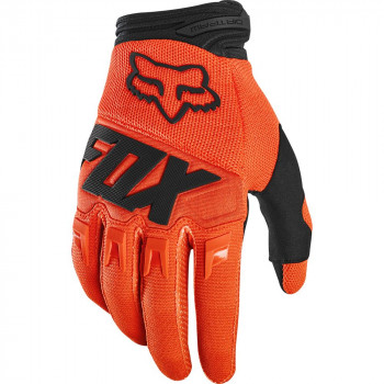 Fox Youth Dirtpaw Gloves Fluro Orange