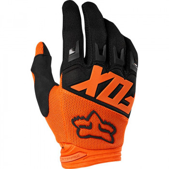 Fox Youth Dirtpaw Race Gloves Orange