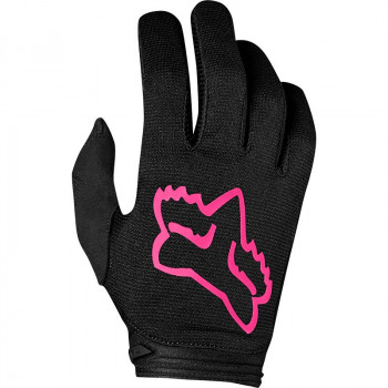 Fox Youth Girls Dirtpaw Mata Gloves Black/Pink