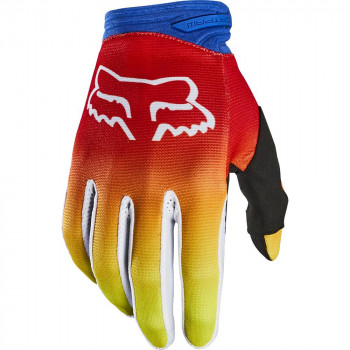 Fox Dirtpaw FYCE Gloves Blue/Red
