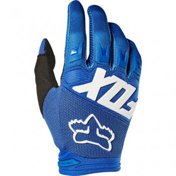 Fox Youth Dirtpaw Race Gloves Blue