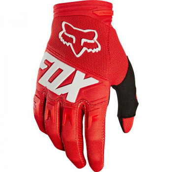 Fox Youth Dirtpaw Race Gloves Red