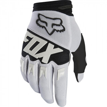 Fox Dirtpaw Race Gloves White