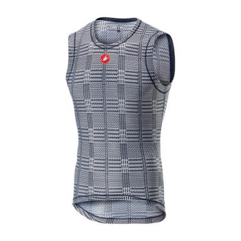 Castelli Men's Pro Mesh Sleeveless Vest Dark Steel