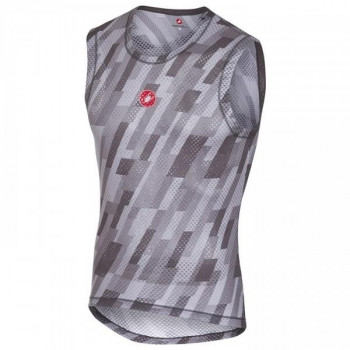Castelli Men's Pro Mesh Sleeveless Vest Grey