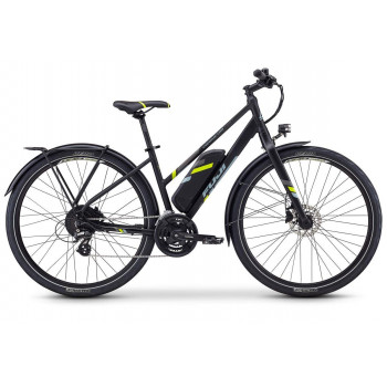 Fuji Conductor 2.1 Step Through Electric Bike Satin Black
